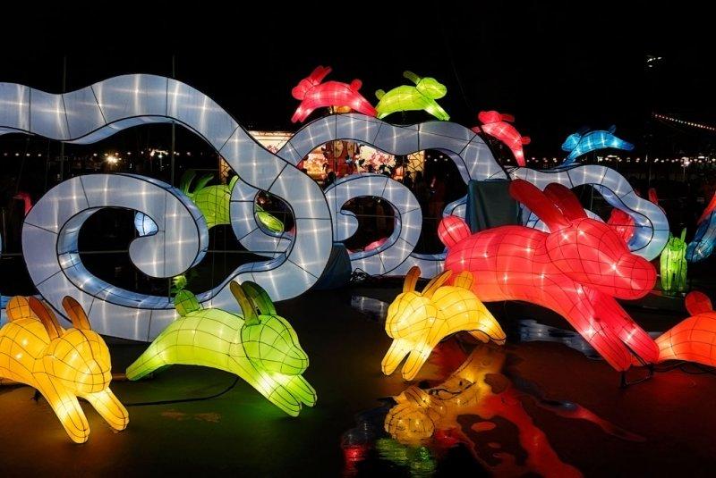 Lantern Festival at the Victoria Park