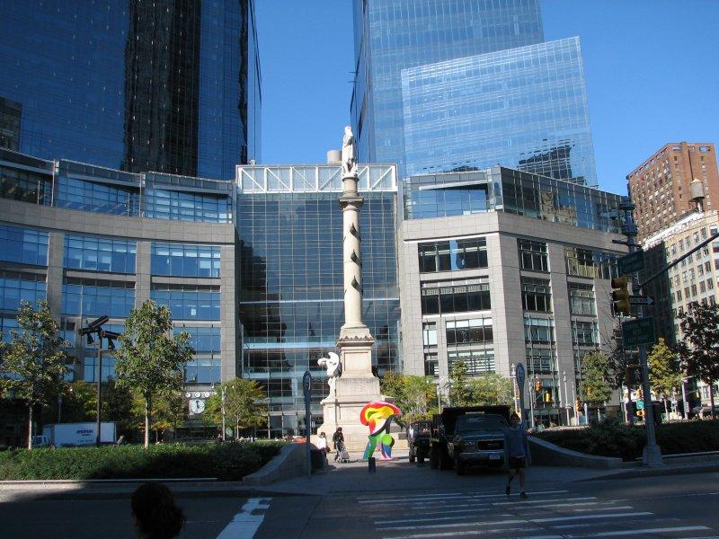 Columbus Circle Fountain