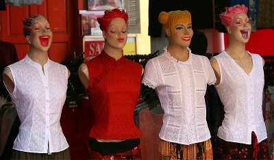 4 Laughing Mannequins (Apr 07)