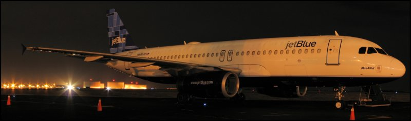 JetBlue Airways Airbus A320 (N624JB) **Panoramic**