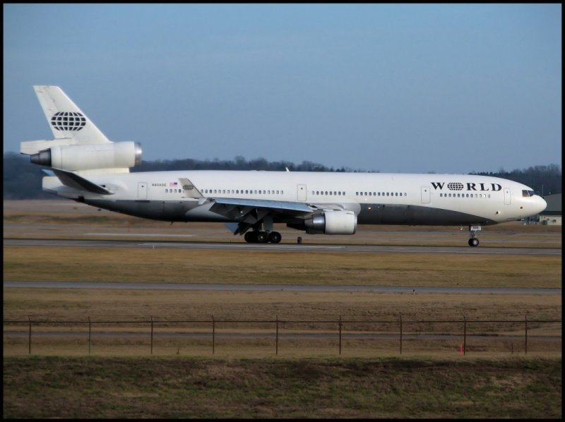 World Airways McDonnell Douglas MD-11(N804DE)