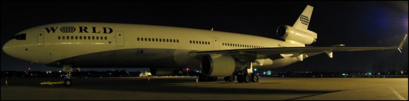 World Airways McDonnell Douglas MD-11(N804DE) **Panoramic**