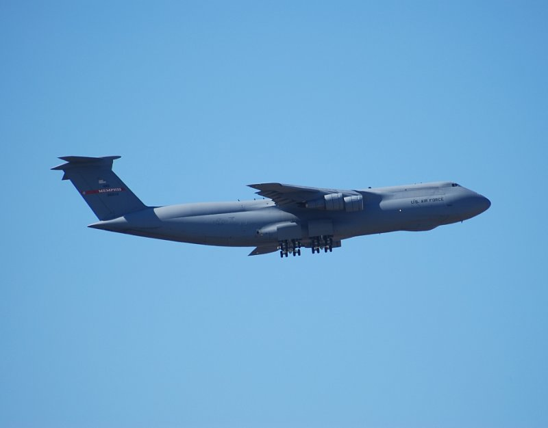 US Air Force Reserve Lockheed C-5 Galaxy