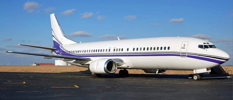 Swift Air Charter Boeing 737-4B7 (N801TJ) **Panoramic**