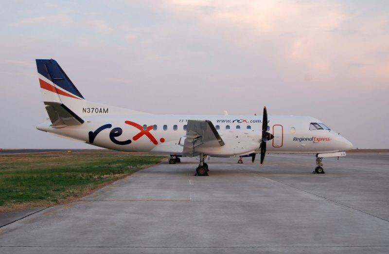 Regional Express Airlines (REX) Air Saab 340 (N370AM)