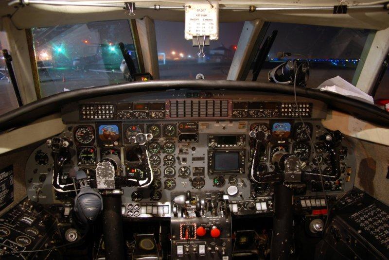Pak West Airlines Fairchild SA-227AC Metro III (N63NE) **Cockpit**