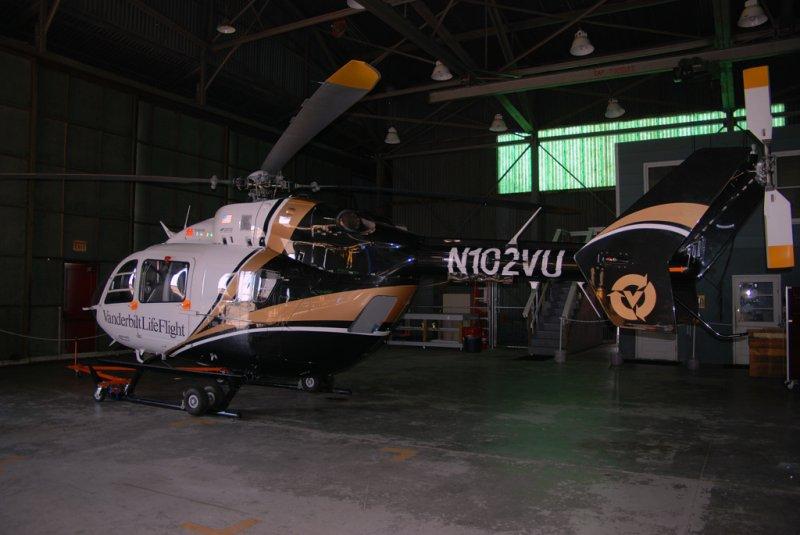 Vanderbilt Hospital LifeFlight Eurocopter EC145 (N102VU)