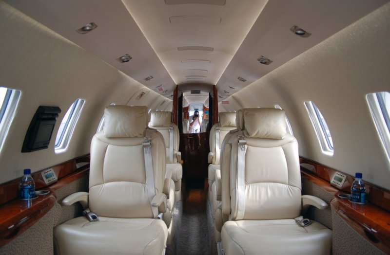 XOJet Inc. Cessna Citation X (N753PT) **Cabin**