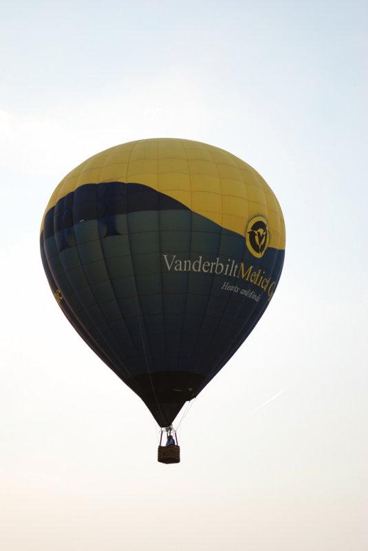 Vandebilt Medical Center Hotair Balloon