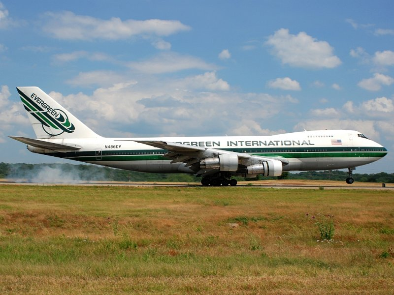 Evergreen International Airlines Boeing 747-212B(SF) (N486EV)