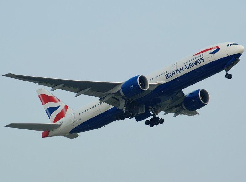 British Airways Boeing 777-236 (G-VIIO)