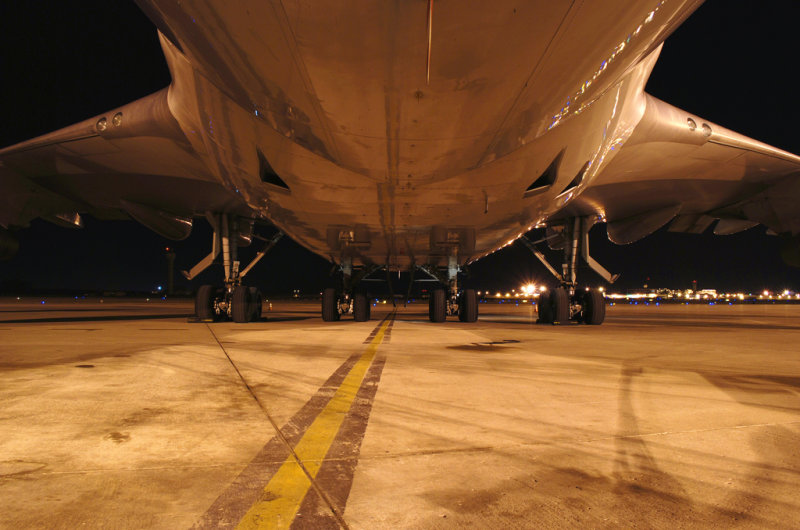 Boeing 747-400 Belly