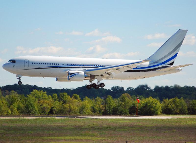 MLW Air Boeing 767-277 (N767MW)  **Dallas Mavericks (NBA) Team Plane**