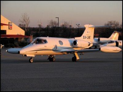Untitled  Lear Jet 24 (XA-LNK)
