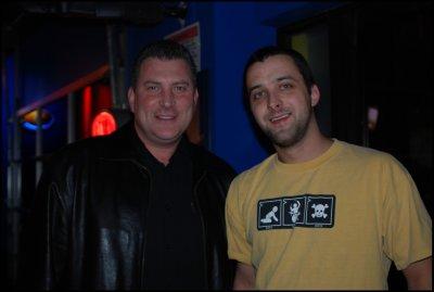 Nashville Predators Assistant Coach Peter Horachek and myself
