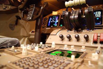 **Private** Boeing 747-400 Flight Controls