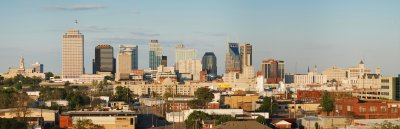 The One, The Only, THE Definitive Panoramic of Nashville **HUGE**