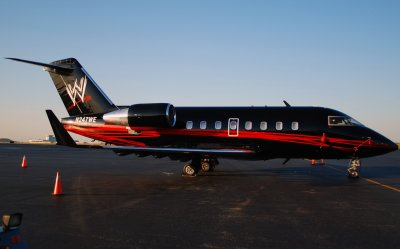 World Wrestling Entertainment (WWE) Canadair CL-600-2B16 Challenger 604 (N247WE)