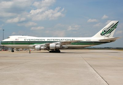 Evergreen International Airlines Boeing 747-212B(SF) (N486EV) **BIG Picture**
