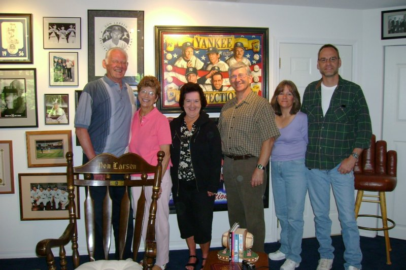 Don, Corrine, Donna, Wayne, Velina, and Don