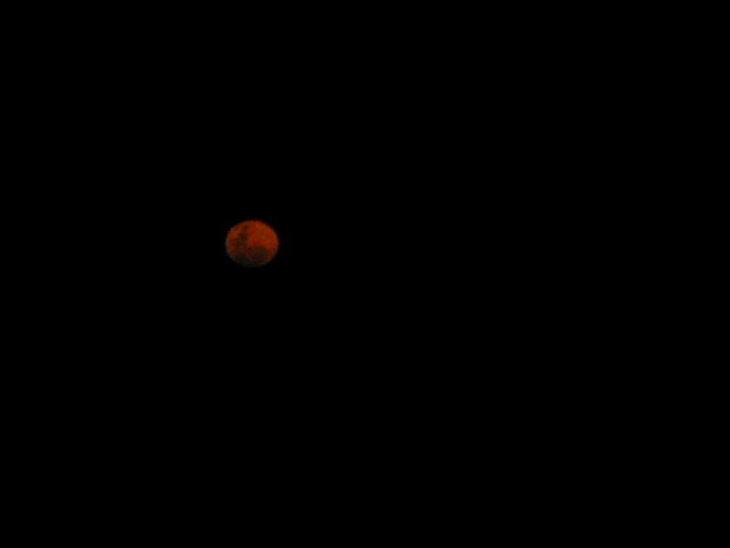 Full Moon over the Australian Ouback