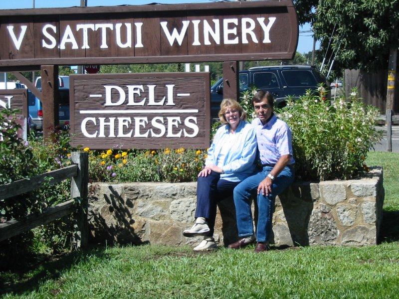 V Sattui Winery Mom & Dad