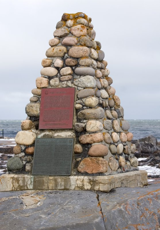 Commemorative Cairn at Cape Merry