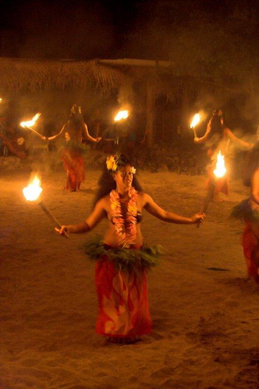 1301 Beginning of the fire dances