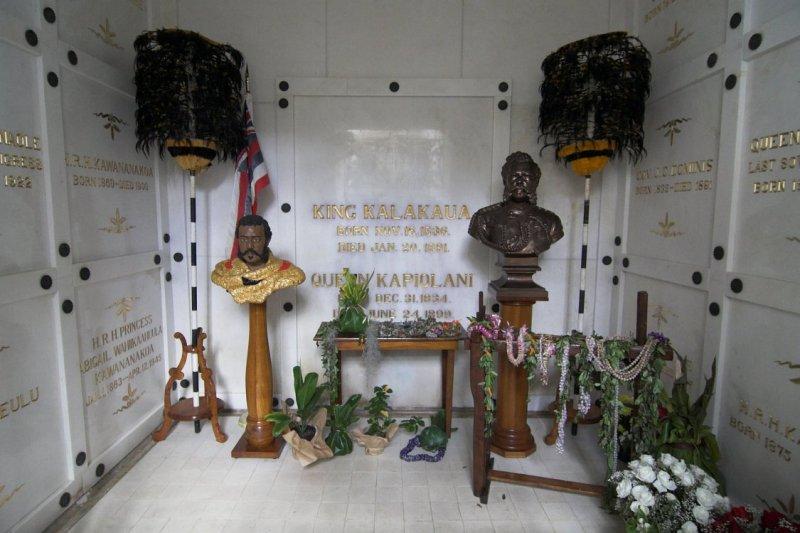 2441 Resting place of Kalakaua Dynasty