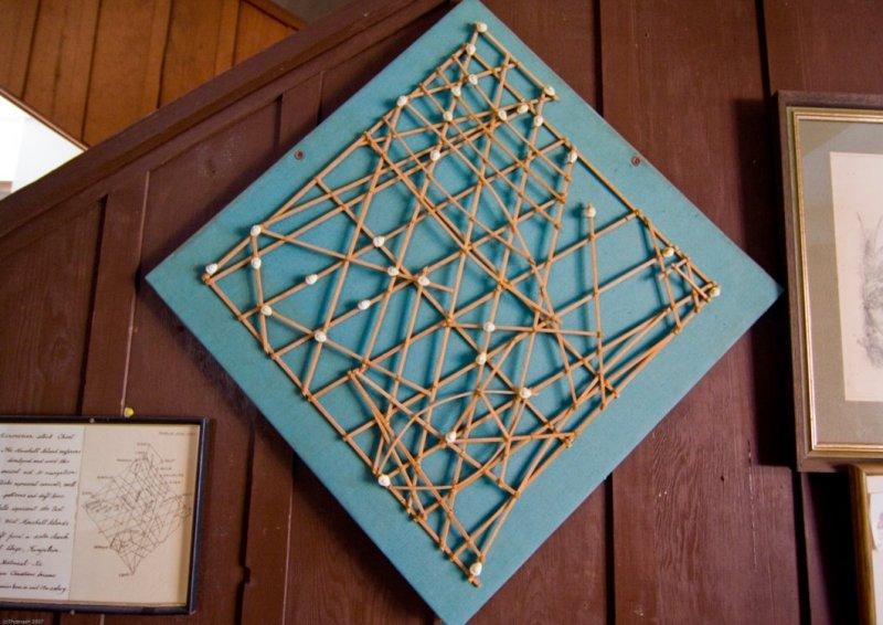 C4898 Micronesian Stick Chart