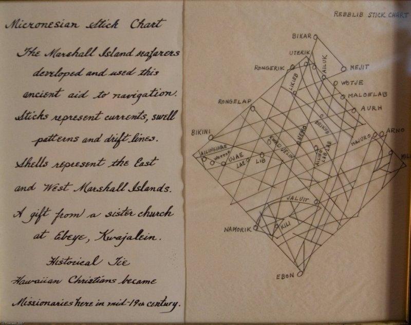 C4913 Micronesian Stick Chart
