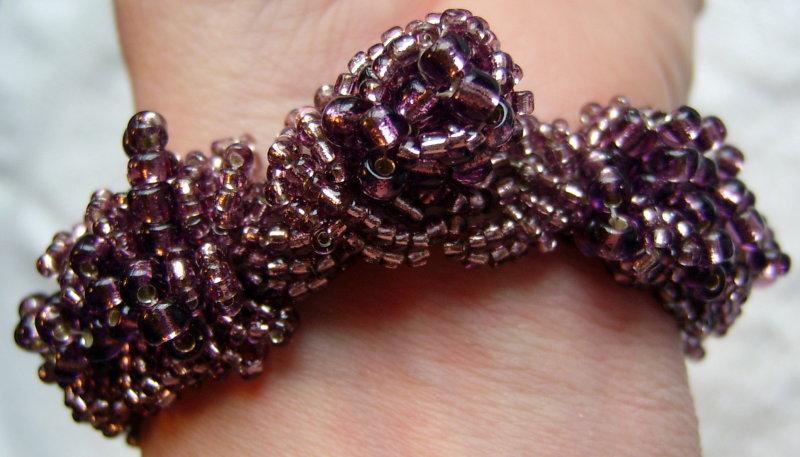 Caterpillar Bracelet Fastened