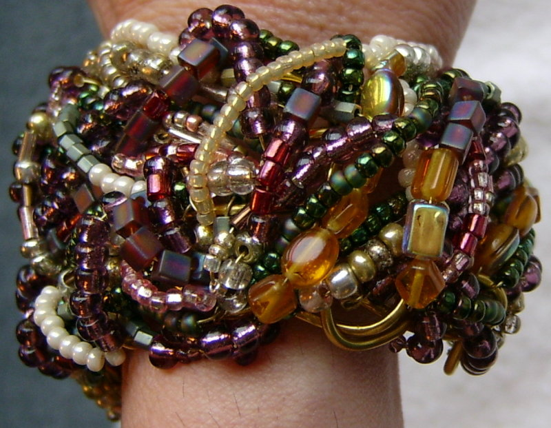 Beaded Cuff - Side View
