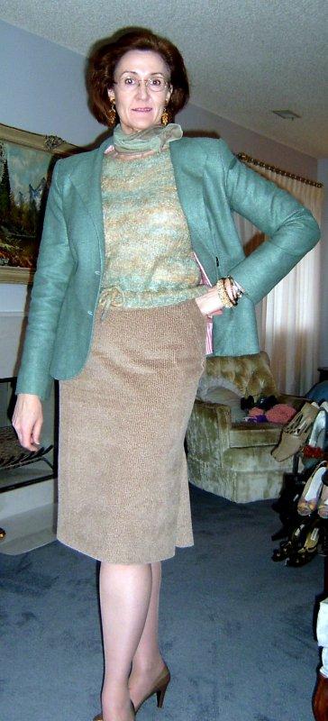 Corduroy Skirt #103/8-2006