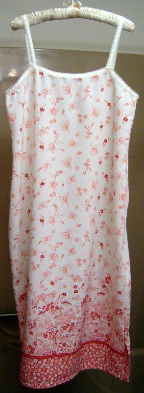Border Print Nightgown