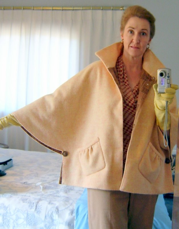 Marfy Cape showing Style Line