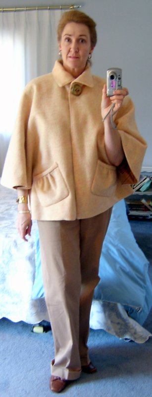 Marfy Cape with Collar Down