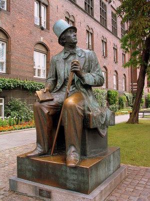 Hans Christian Anderson, Copenhagen