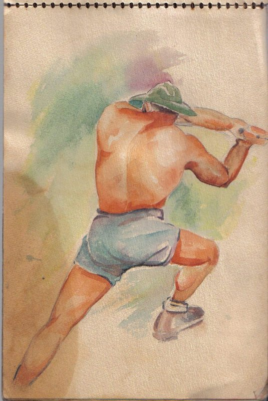 WWII Watercolor 2