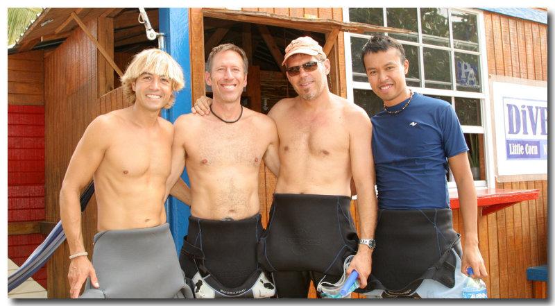 Ben, Brian, Joe, Cesar