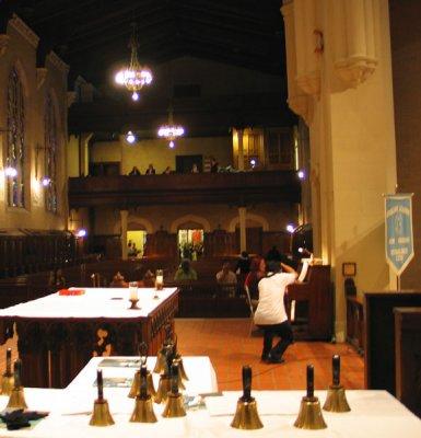 Altar, Nuns Chapel and Choir Loft