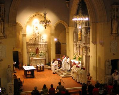 From the Choir Loft - January 8, 2007