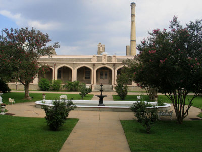Another View of the Courtyard - August 2007