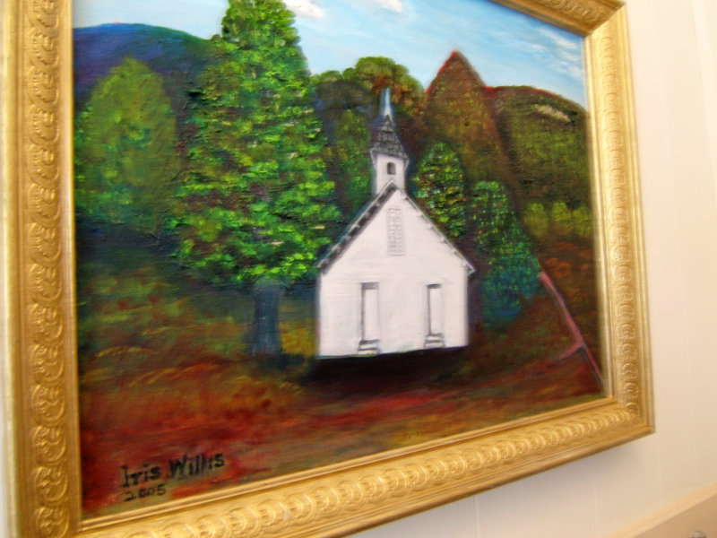 Painting of 1894 Willow Hill Church