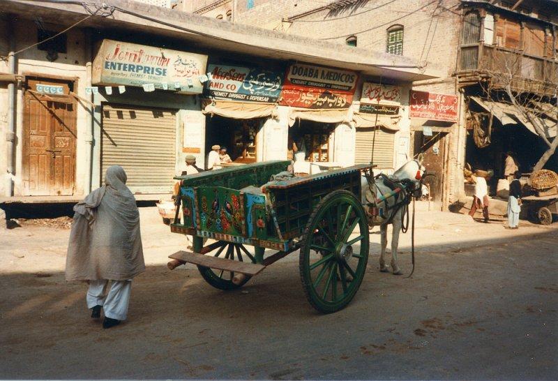 Horse cart - Peshawar