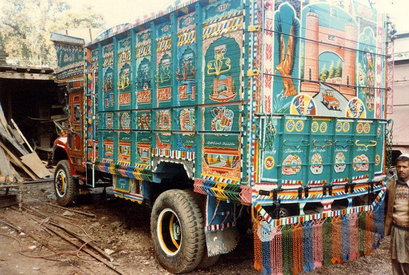 Peshawar Karkhana (truckyards)