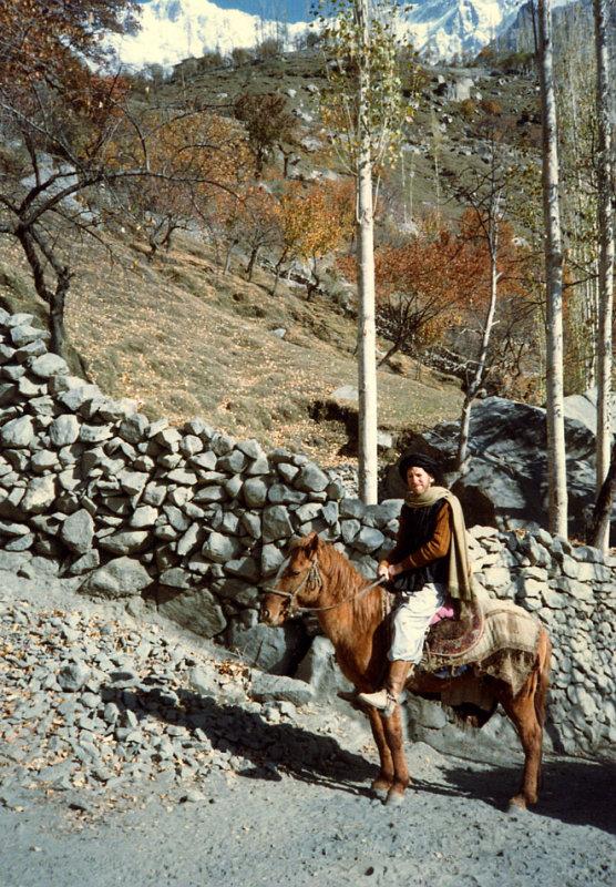 Road between Baltit and Genesh