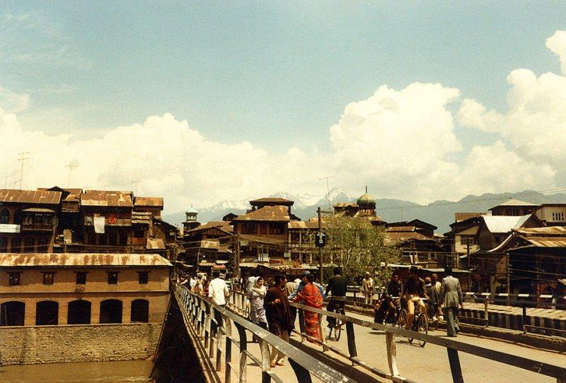 The Zaina Kadal Bridge