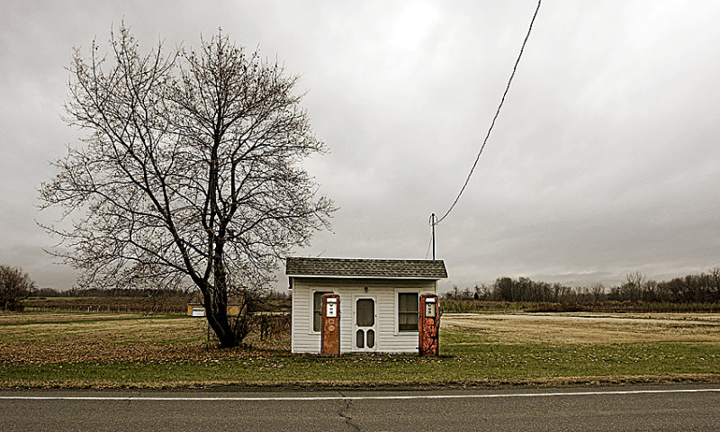 2 Old Gas Pumps<br>by inframan
