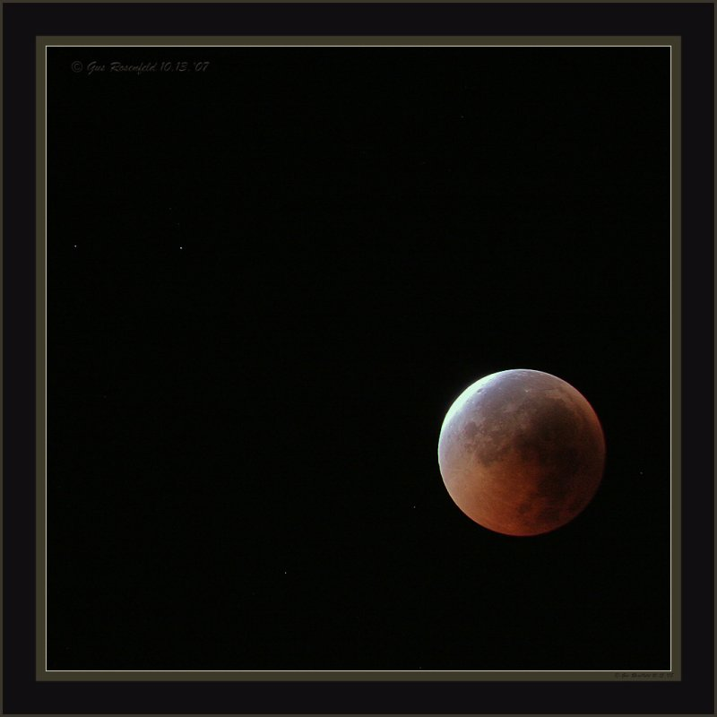 Just Reemerging From Total Lunar Eclipse 07